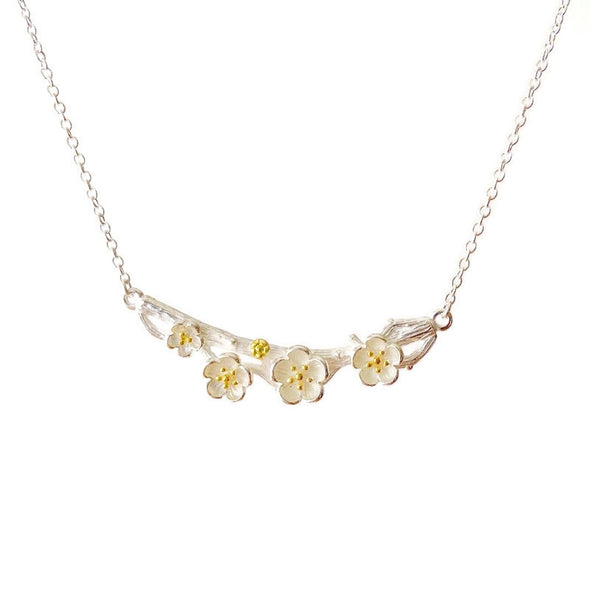 Plum Blossom Necklace