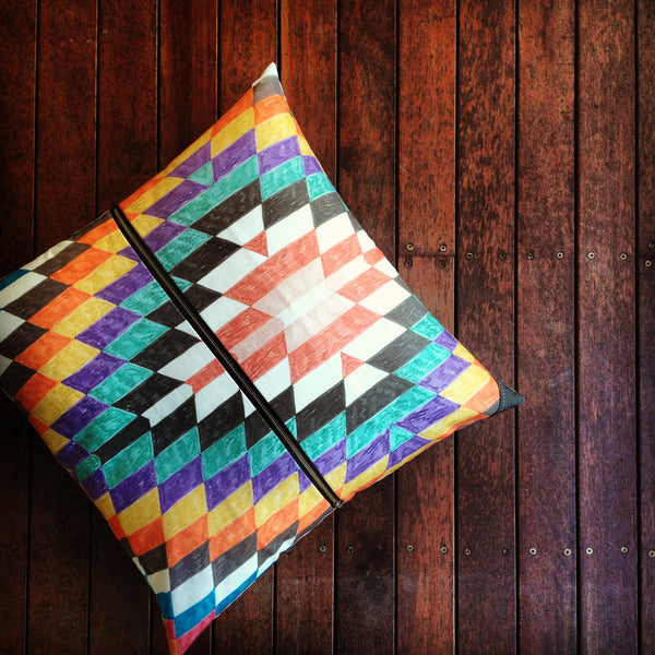 Cushion / Texta Print Two