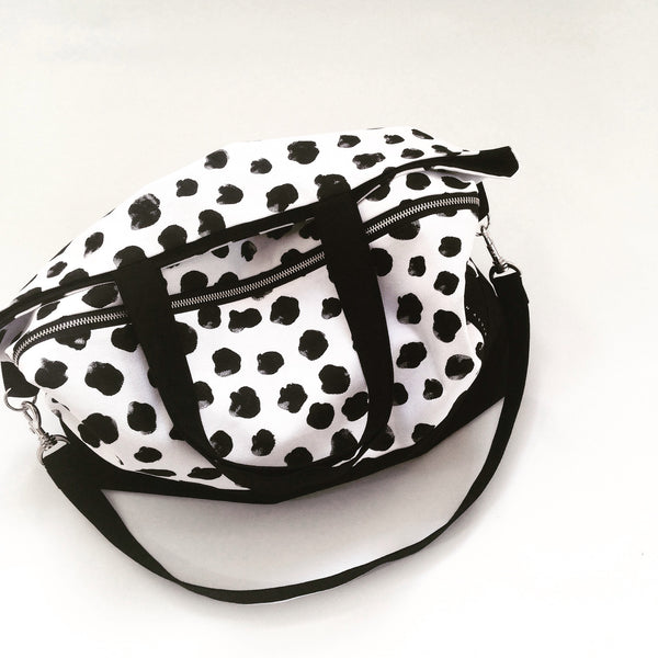 Carry All Bag / Monochrome Cheetah