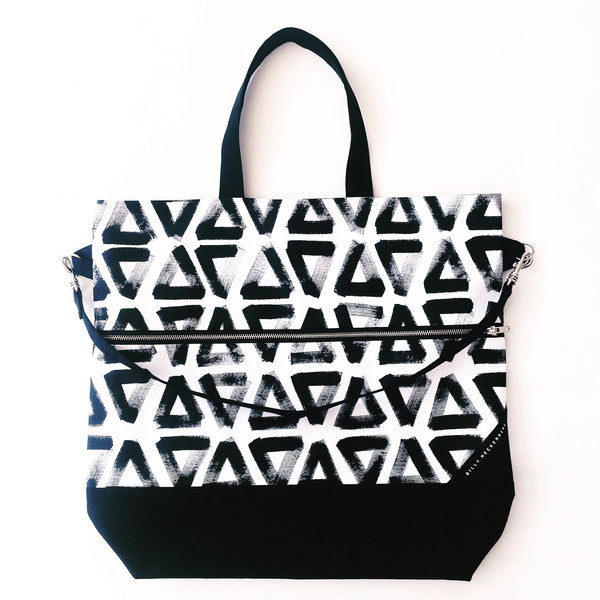 Carry All Bag / Painted Triangle