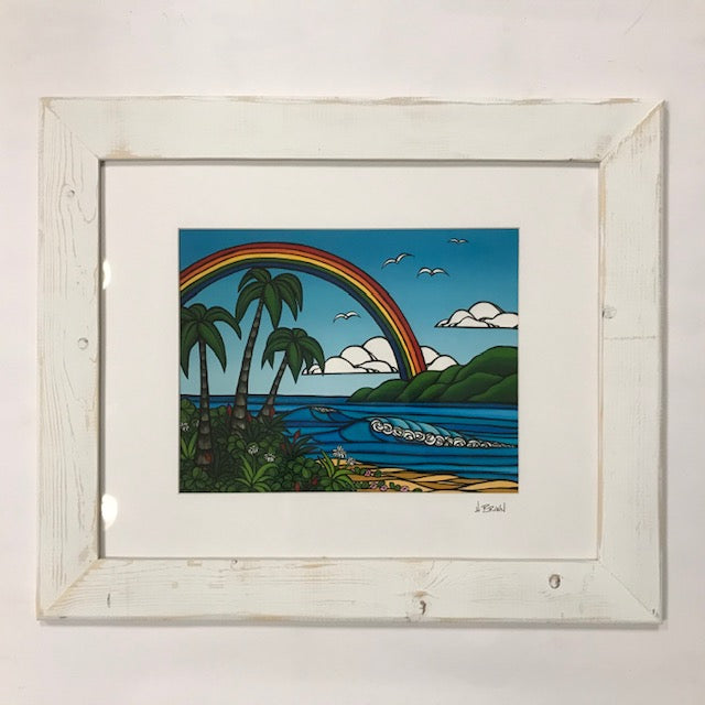 "No Rain No Rainbow! ""Anuenue"" means Rainbow in Hawaiian!"