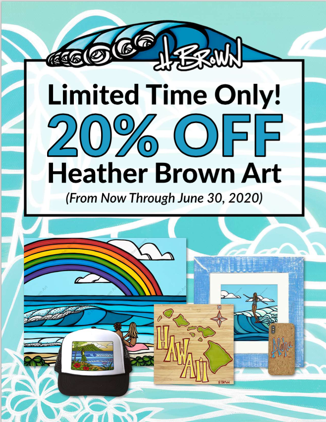 Heather Brown Art 20%OFF Extended to June 30th!