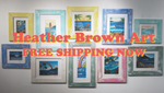 Free shipping on Heather Brown Art Orders over $50!!