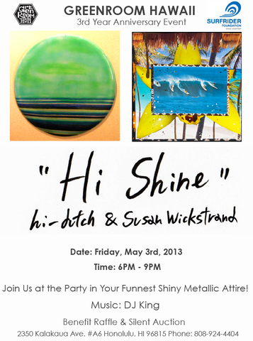 "Gallery's 3rd Year Anniversary Party ""Hi-Shine"""