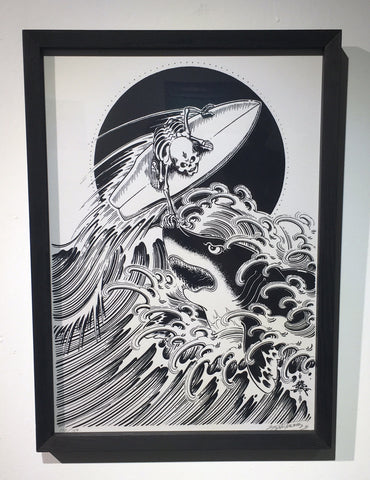 Framed Silkscreen V