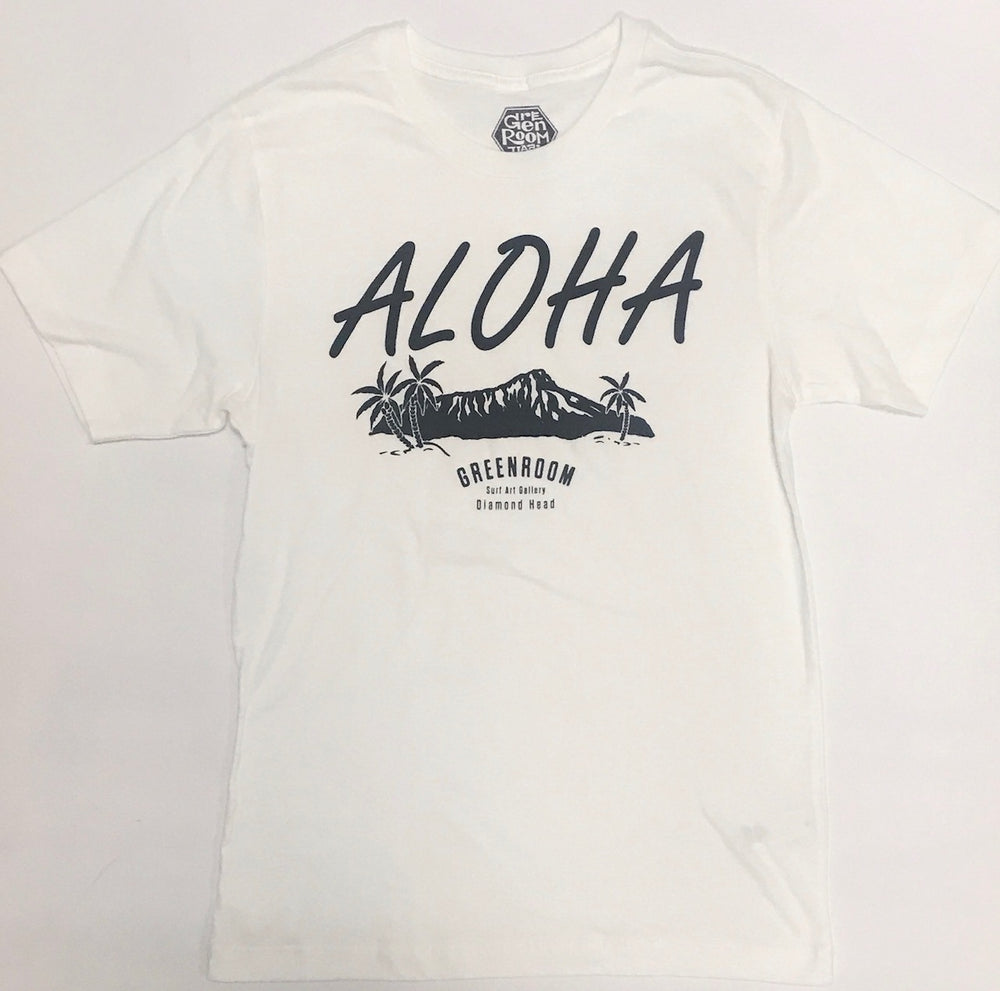 Aloha Diamond Head T-shirt white