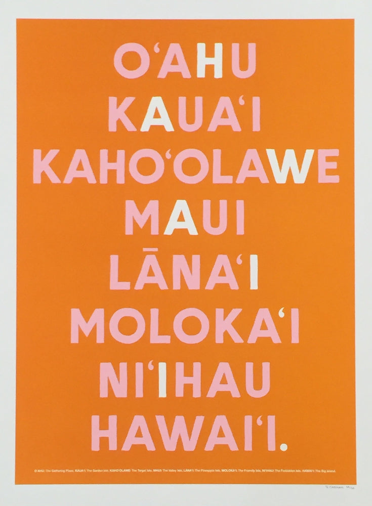 Hawaii Islands Orange