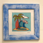 Surfboards Framed Print - (M)