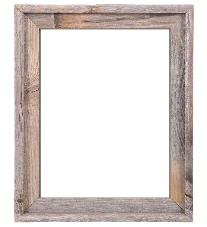 Rustic Reclaimed Barn Wood Frame