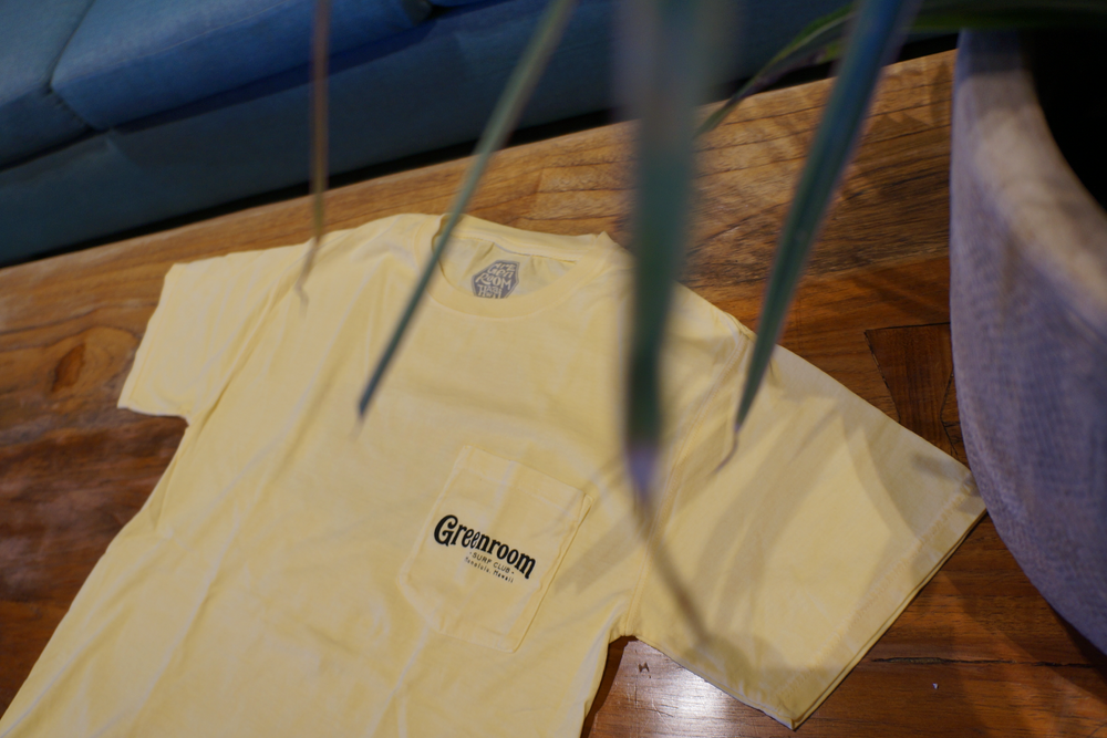 GRH 10th Anniversary Pocket T-shirt - Yellow