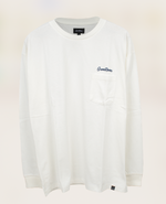 Greenroom Logo Long Sleeve White