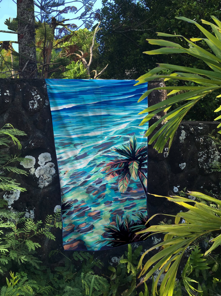 Low Tide - Surfer Towel