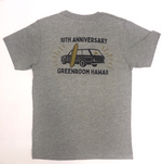 10th Anniversary T-shirt - Wagon - Heather Grey