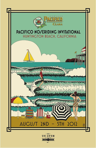 Pacifico US Open Noseriding Invitational Poster