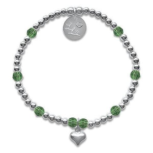 Little LL August Birthstone Bracelet