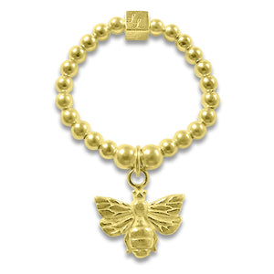 Gold Bee Beth Ring