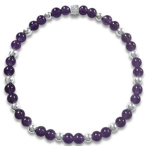 Camilla Amethyst Purple Colours Bracelet