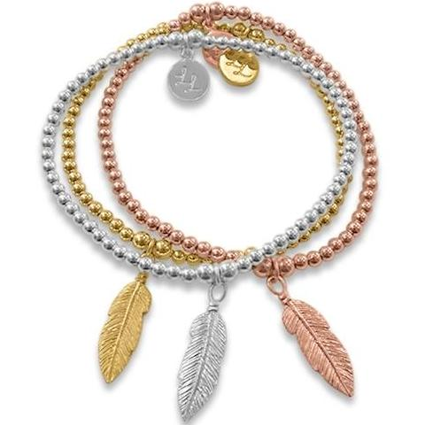 Edith Feathers Bracelets