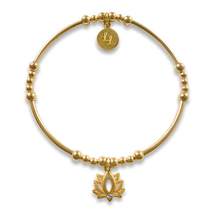 Yellow Gold Lottie Lotus