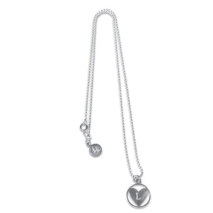 Personalised Heart Initial Necklace