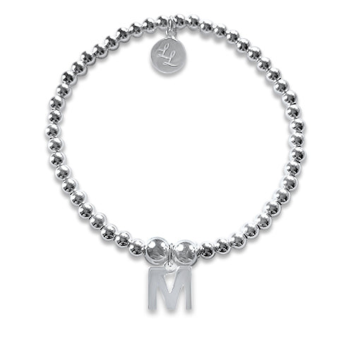 Kitty Personalised Initial Bracelet