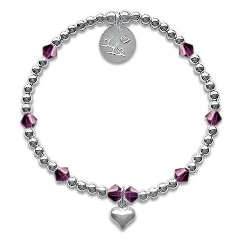 Little LL February Birthday Bracelet