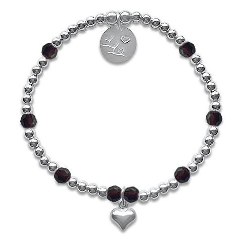 Little LL January Birthday Bracelet