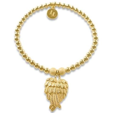 Olivia Gold Angel Wings