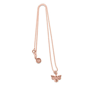 Rose Gold Beth Bee Necklace