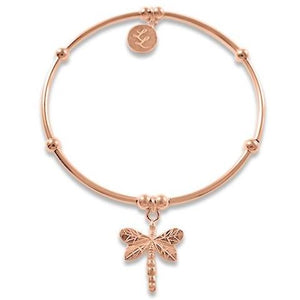 Rose Gold Edna Dragonfly Bracelet