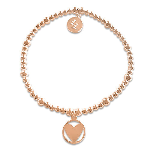 Edith Rose Gold Heart