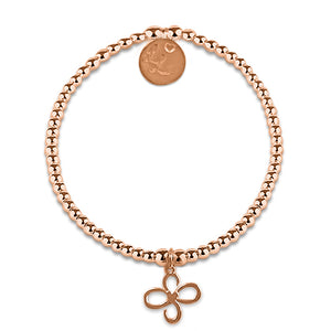 Little LL Rose Gold Friendship Knot Bracelet