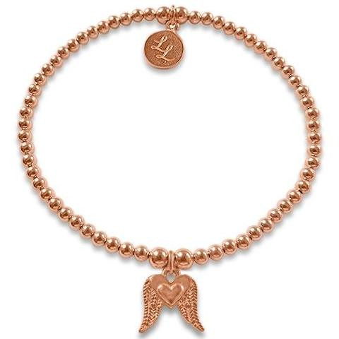 Rose Gold Loving Wings Bracelet