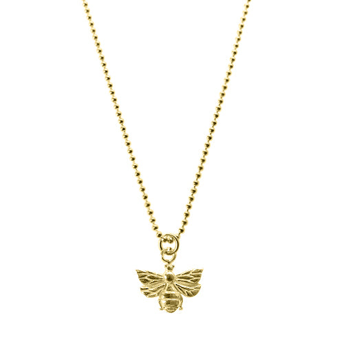 Yellow Gold Bee Beth Necklace