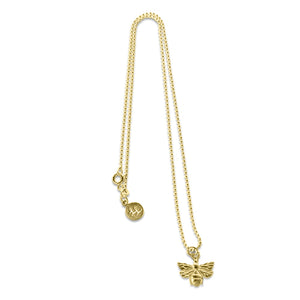 Gold Beth Bee Necklace