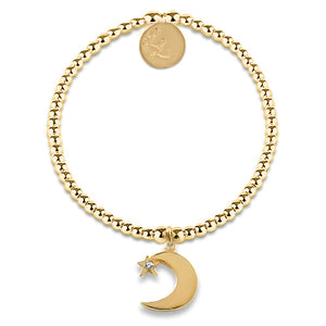 Edith Yellow Gold Moon