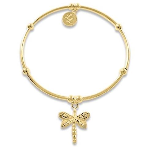 Yellow Gold Edna Dragonfly