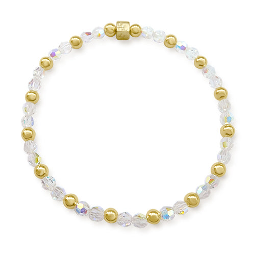 Agatha Crystal with Gold