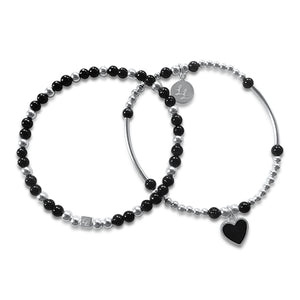 Melody Black Heart 2 Stack