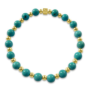 Billi Turquoise With Gold