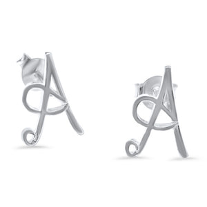 Maisie Initial Earrings