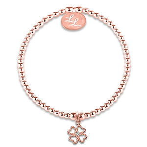Edith Rose Gold Four Leaf Clover