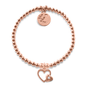 Little LL Rose Gold Hearts