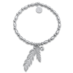 Dixie Feather Love Bracelet