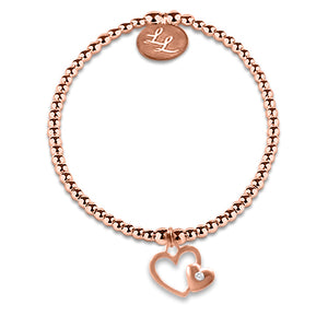 Edith Rose Gold Hearts