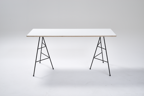 Metal Trestle Legs, Trestle table