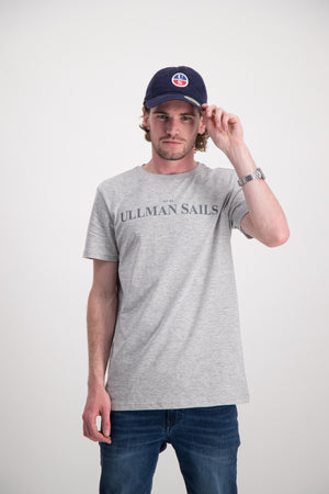 GREY MELANGE ULLMAN SAILS T-SHIRT