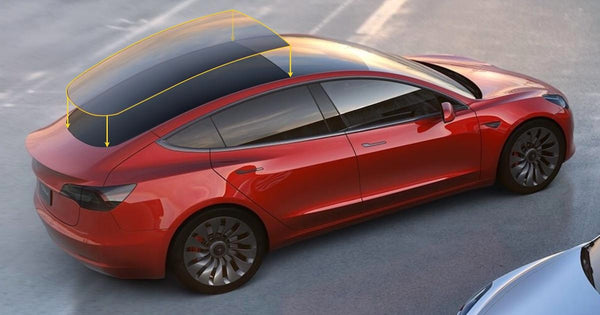 What S Behind The Expansive Glass Roof On The Tesla Model