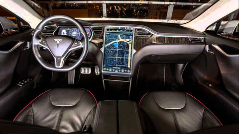 Tesla says all new cars will have self-driving hardware ... |Self Driving Tesla Interior
