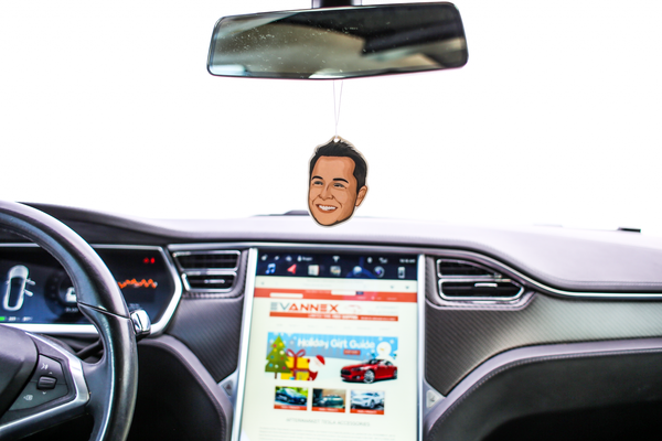 Elon's Musk Air Freshener for Tesla Fans and Owners